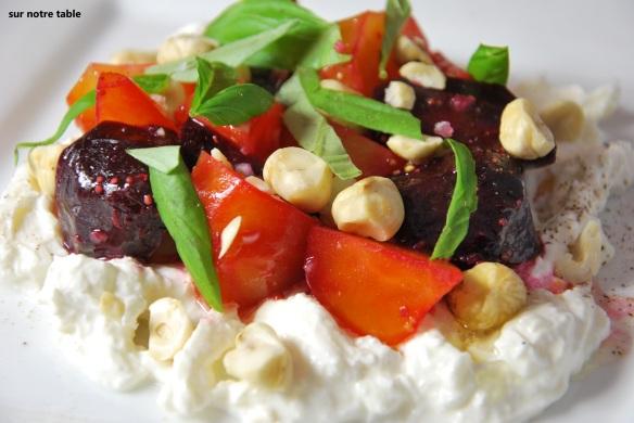 beets and burrata