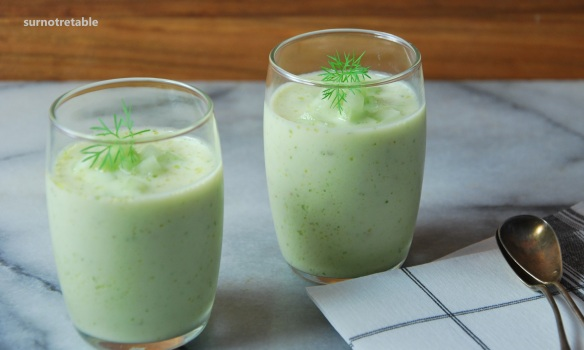 cucumber and dill soup